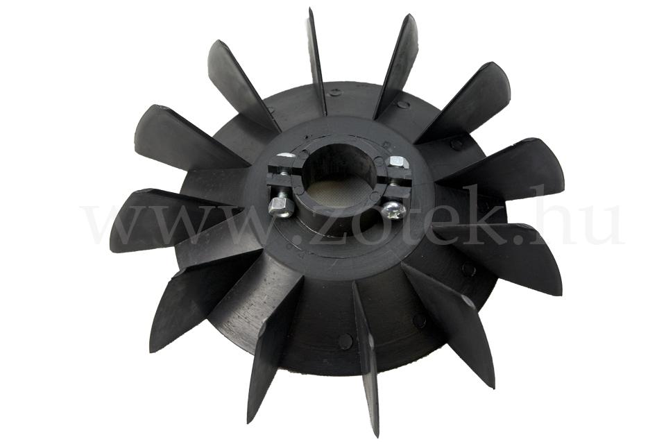 Vtf series electric motor plastic cooling fans zotek for Dc motor cooling blowers