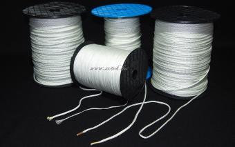 wovened glass silk cord 4mm